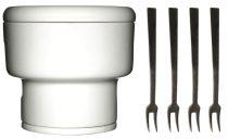 fondue set porcelan
