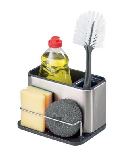 Organizér na čistiace produkty Surface neodmysliteľne patrí do kuchyne. Uložíte doň bez problémov všetko, čo potrebujete na riad.