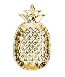 Miska Pineapple u vás zaručene nájde využitie. Či už do nej dáte prstienky alebo mince, bude skvele vyzerať, kamkoľvek ju umiestnite.
