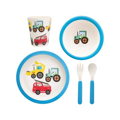 Detský set na jedenie Traktor.