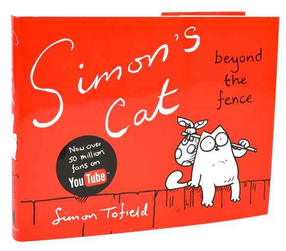"Simons Cat kniha – ""Beyond the Fence"""