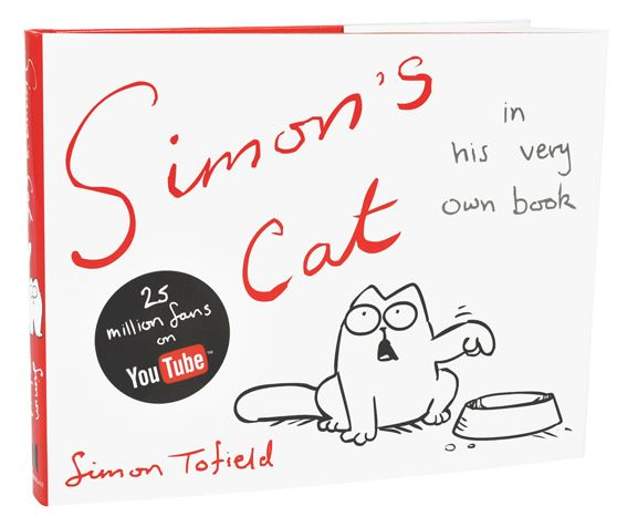 "Simons Cat kniha – ""In His Very Own Book"""