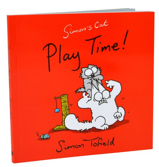 "Simons Cat kniha – ""Play Time"""