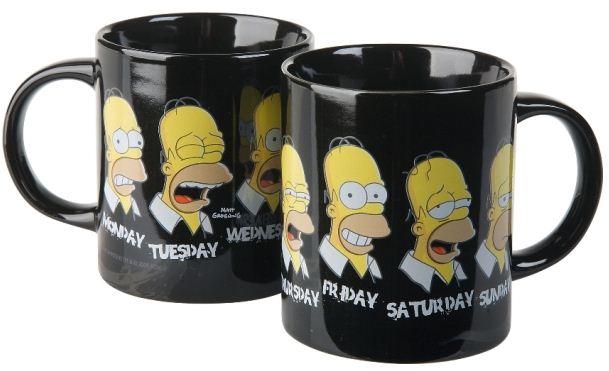 """""""The Simpsons"""" šálka """"Homer´s Week"""""""